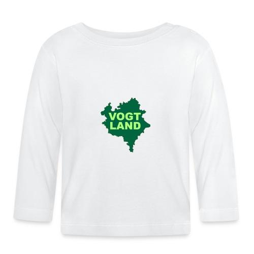 Vogtland Landkarte Landkreis Sachsen Touristik - Baby Langarmshirt