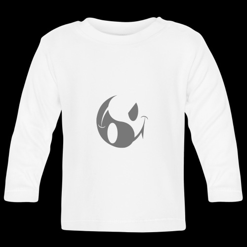 smiley yin yang - Baby Long Sleeve T-Shirt