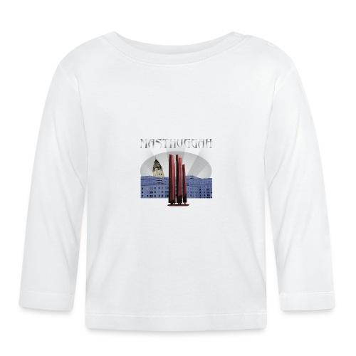 Masthuggah master, kyrka och terass - Långärmad T-shirt baby