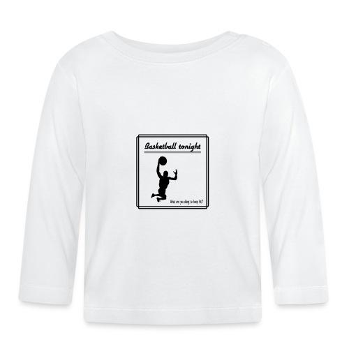 Basketball tonight - Vauvan pitkähihainen paita