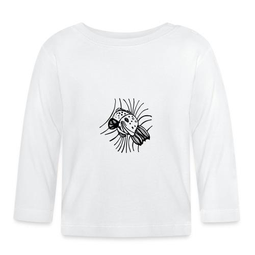pesce1 - Maglietta a manica lunga per bambini