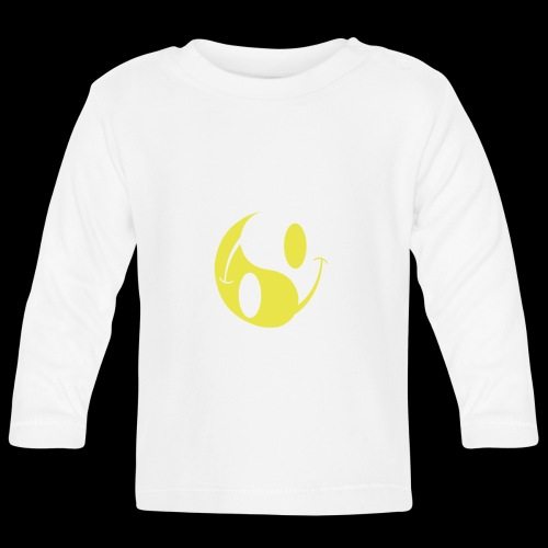 acid yin yang - Baby Long Sleeve T-Shirt