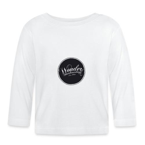 Wonder T-shirt - oldschool logo - Langærmet babyshirt