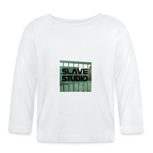 Logo_SLAVE_STUDIO_1518x1572 - Maglietta a manica lunga per bambini