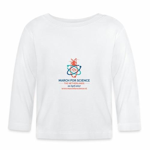 MfS-NL logo light background - Baby Long Sleeve T-Shirt