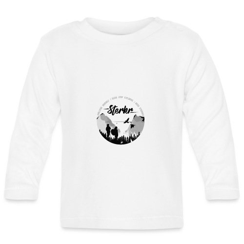STERKR - Fjordview - Baby Long Sleeve T-Shirt