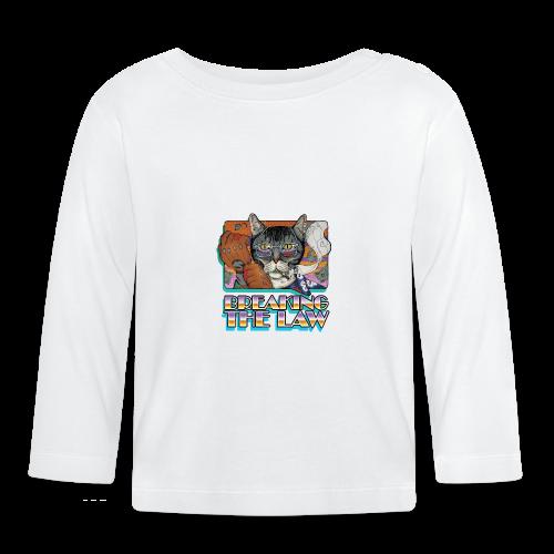 Crime Cat- Breaking the Law - Koszulka niemowlęca z długim rękawem