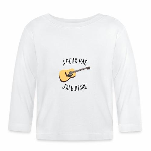 J'peux pas j'ai Guitare - T-shirt manches longues Bébé