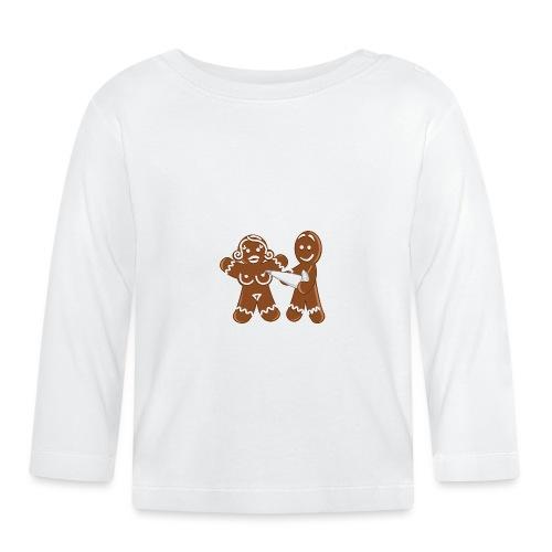 christmas - gingerbread love - Lebkuchenmann - Baby Langarmshirt