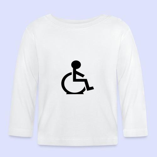Rolstoel gebruiker met platte band - T-shirt