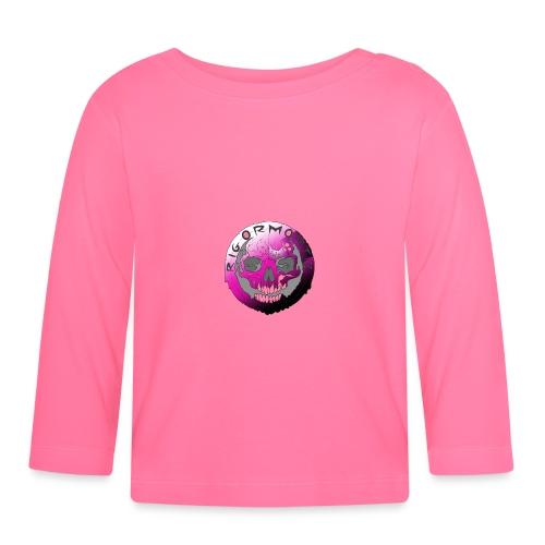 Rigormortiz Purple Design - Baby Long Sleeve T-Shirt