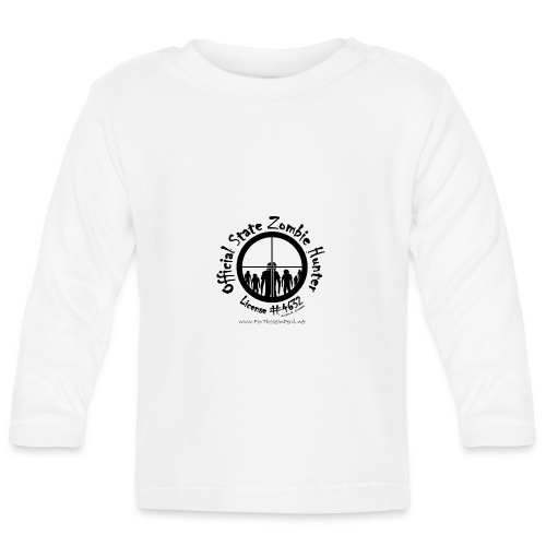 Official State Zombie Hunter (B) - Baby Long Sleeve T-Shirt