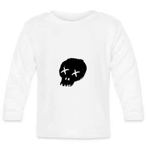 blackskulllogo png - Baby Long Sleeve T-Shirt