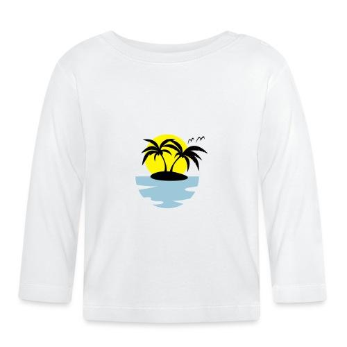 Island, Sun and Sea - Baby Long Sleeve T-Shirt
