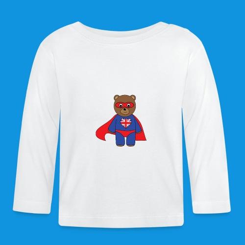British Hero Bear tank - Baby Long Sleeve T-Shirt