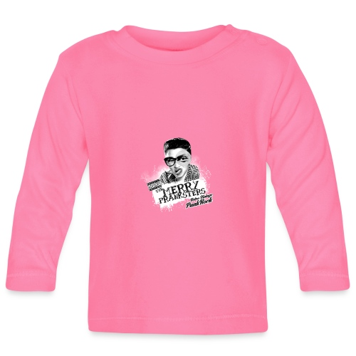The Merry Pranksters - Woman Black T-Shirt - Baby Long Sleeve T-Shirt