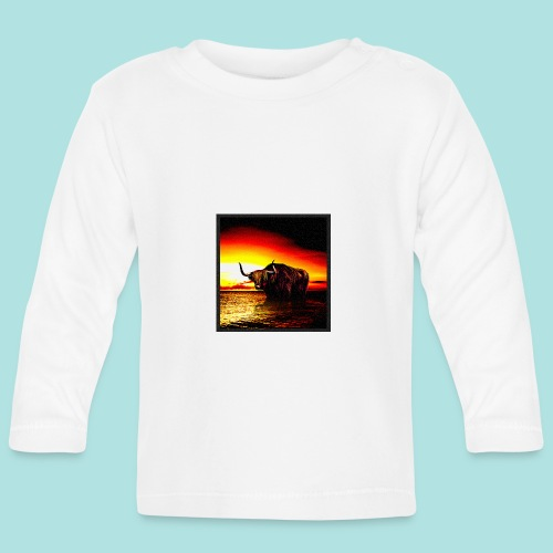 Wandering_Bull - Baby Long Sleeve T-Shirt