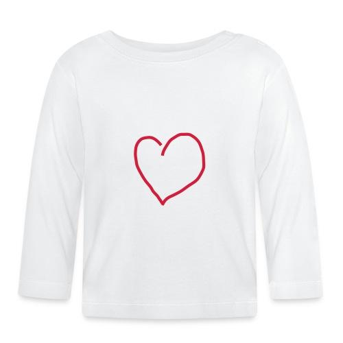 Herz_Red1 - Baby Langarmshirt