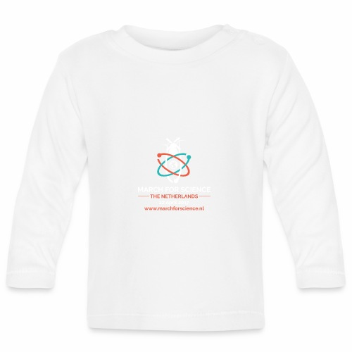 MfS-NL logo dark background - Baby Long Sleeve T-Shirt