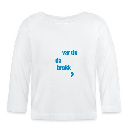 Oddvar Brå - Langarmet baby-T-skjorte