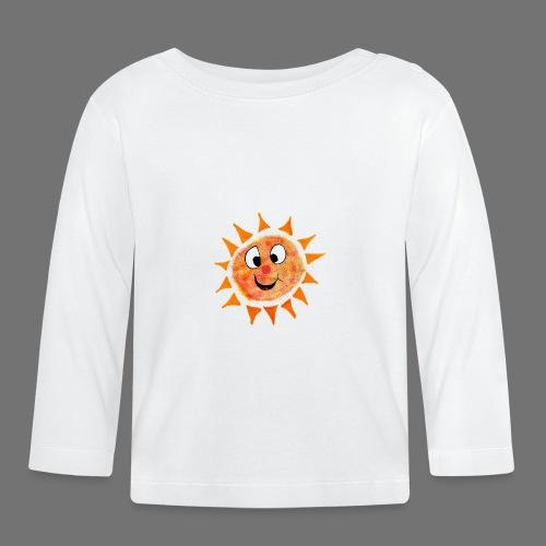 Słońce - Koszulka niemowlęca z długim rękawem