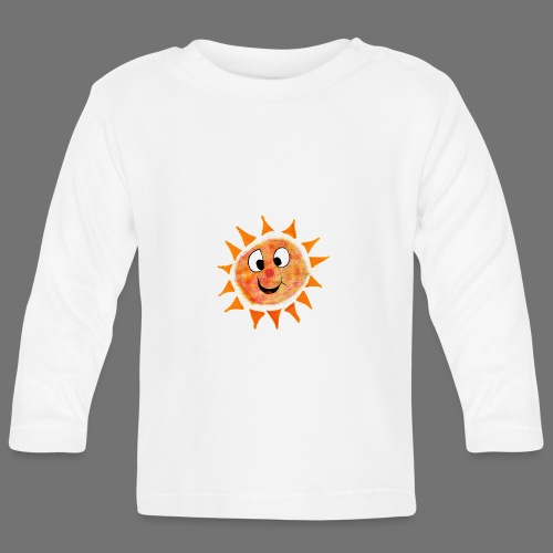 Sol - Langærmet babyshirt