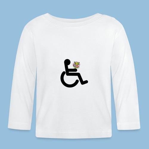 Wheelchairflowerskleur - T-shirt