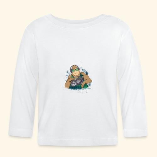 Gorilla Jungle Hiphop - Camiseta manga larga bebé