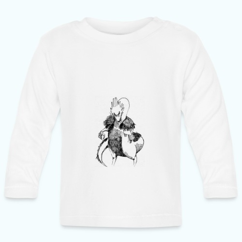 DRAGON STYLE real drawing - Baby Long Sleeve T-Shirt