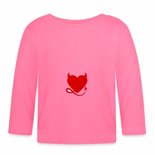 diablita - Camiseta manga larga bebé