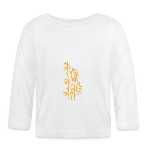 Giallo Dafne 01 - Maglietta a manica lunga per bambini