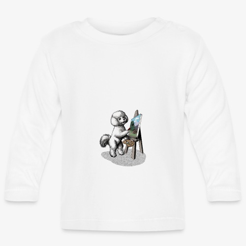 Bichon Frise Painter - Baby Long Sleeve T-Shirt