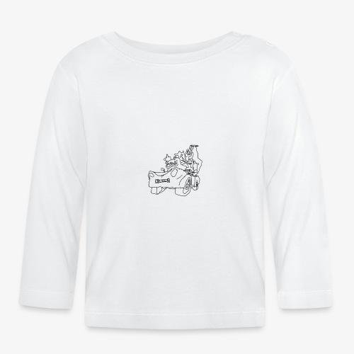 gova dinos - T-shirt manches longues Bébé