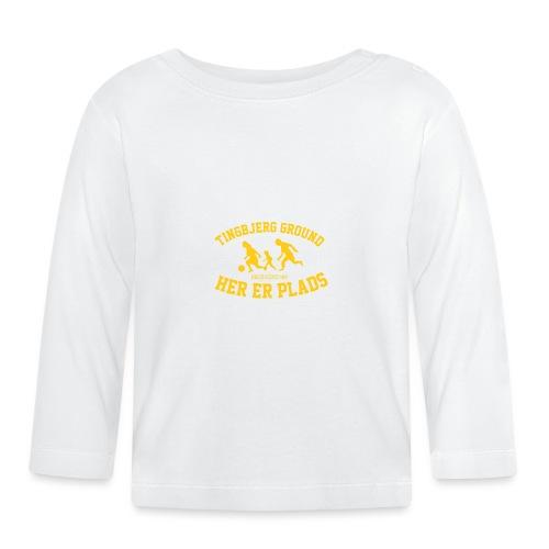 Tingbjerg Ground - her er plads - Langærmet babyshirt