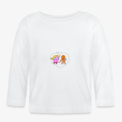 les meilleurs amis - T-shirt manches longues Bébé
