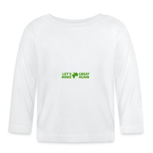 LetsMakeEarthGreatAgain - Långärmad T-shirt baby
