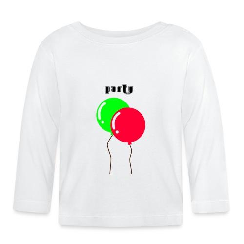 party - Maglietta a manica lunga per bambini