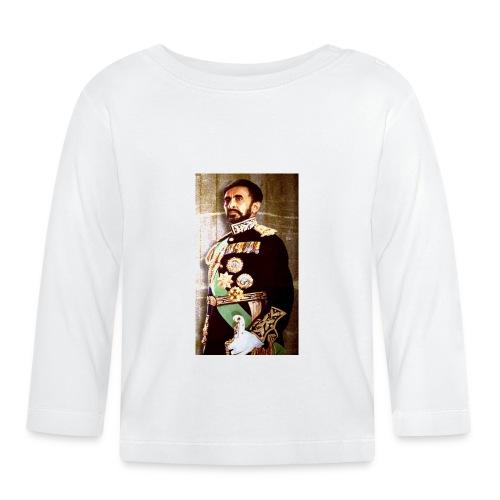 Haile Selassie Trajado jpg - Baby Langarmshirt