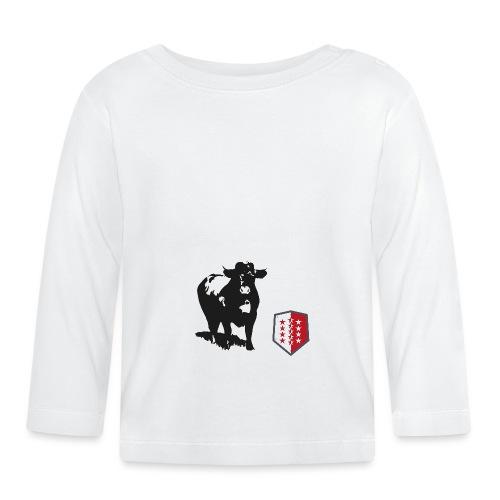 Vache - Cow - Baby Langarmshirt