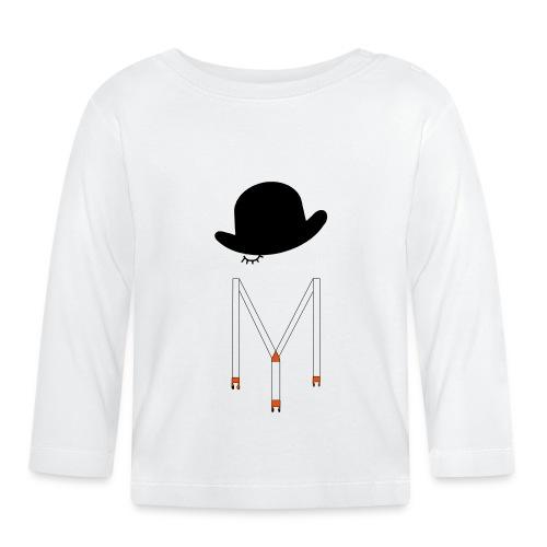 Orange Méca - T-shirt manches longues Bébé