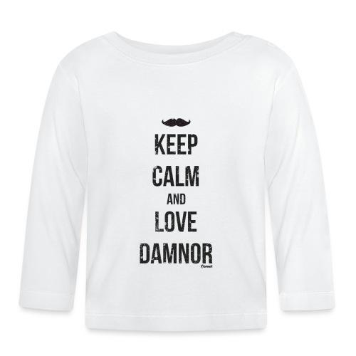 Keep calm and ... (F) - T-shirt manches longues Bébé