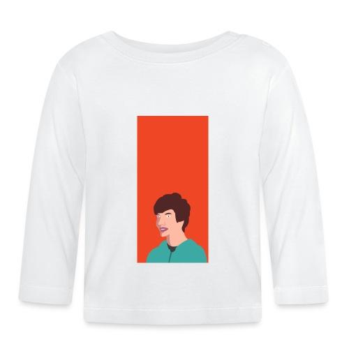 Aron Deksel v.2 6/6S - Langarmet baby-T-skjorte