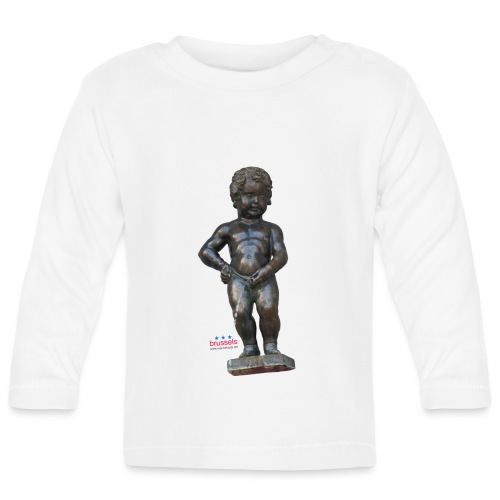 BiG REAL mannekenpis ♀♂   小便小僧 - T-shirt manches longues Bébé
