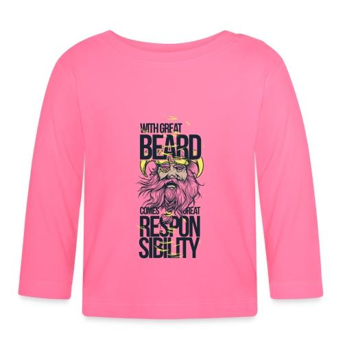 Beard - Långärmad T-shirt baby