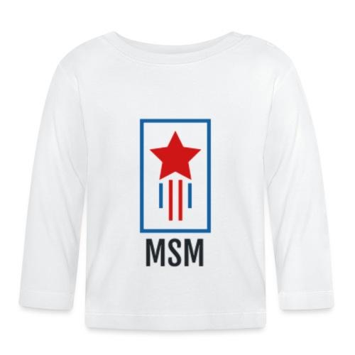MSM SHOOTING STAR - Langærmet babyshirt