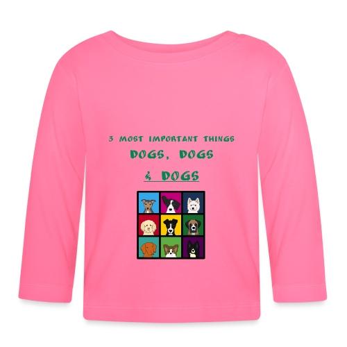 3 most important things - - Vauvan pitkähihainen paita