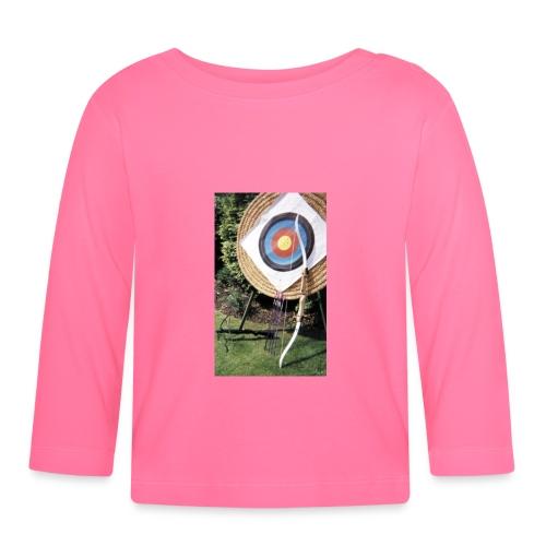 BABF011C E739 4CBC 8994 EFE1B1961AEC - Langarmet baby-T-skjorte