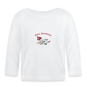 Rob's Woodshop shirt - Baby Long Sleeve T-Shirt