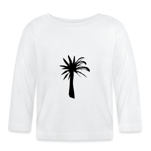 Palmera - Camiseta manga larga bebé
