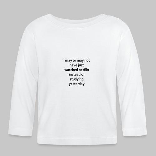 student life - Baby Long Sleeve T-Shirt
